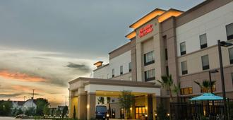 Hampton Inn & Suites Houston North IAH, TX - Houston - Building