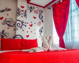 Hotel Acuarios - La Mesa - Bedroom