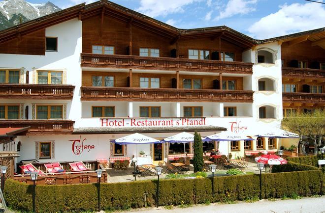 Bergidyll & Hotel Trofana - Leutasch - Rakennus