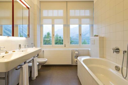 Hotel Waldhaus - Sils im Engadin/Segl - Bathroom