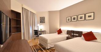 Oakwood Hotel and Residence Kuala Lumpur - קואלה לומפור - חדר שינה