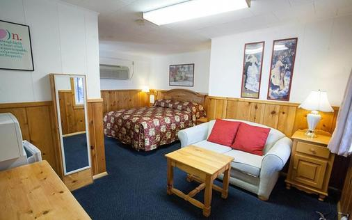 Saddle & Surrey Motel - Estes Park - Schlafzimmer