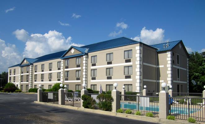 Best Western Executive Inn & Suites - Columbia - Rakennus