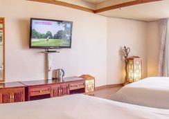 濟州太平洋酒店 - 濟州 - 臥室