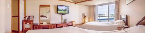Jeju Pacific Hotel - Jeju City - Makuuhuone