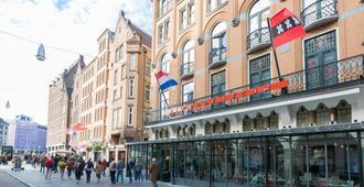 Hotel Amsterdam De Roode Leeuw - Amsterdão - Vista externa