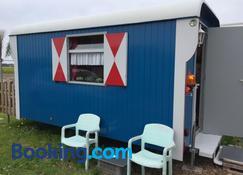 B&B boerderij rust, in pipowagens! - Den Helder - Praia