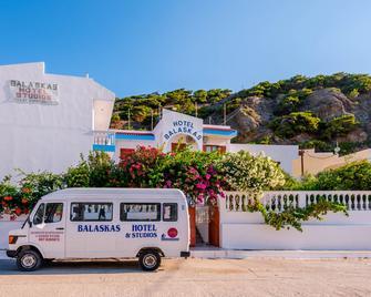 Balaskas Hotel - Karpathos - Building
