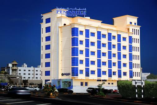 Peninsula Hotel - Muscat - Building