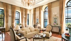 Four Seasons Hotel Istanbul at the Bosphorus - Estambul - Sala de estar