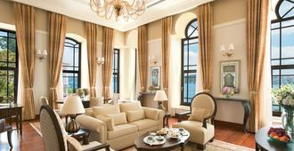 Four Seasons Hotel Istanbul at the Bosphorus - Istambul - Sala de estar