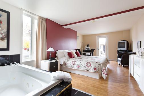 Motel Homeric - L'Ancienne-Lorette - Schlafzimmer