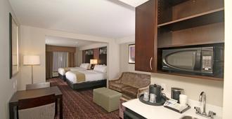 Holiday Inn Express & Suites Charlotte North - שרלוט - חדר שינה