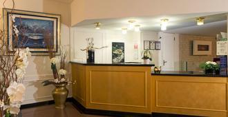 Hotel Campione - Lugano - Recepção