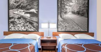 Super 8 by Wyndham Oneonta/Cooperstown - Oneonta - Bedroom