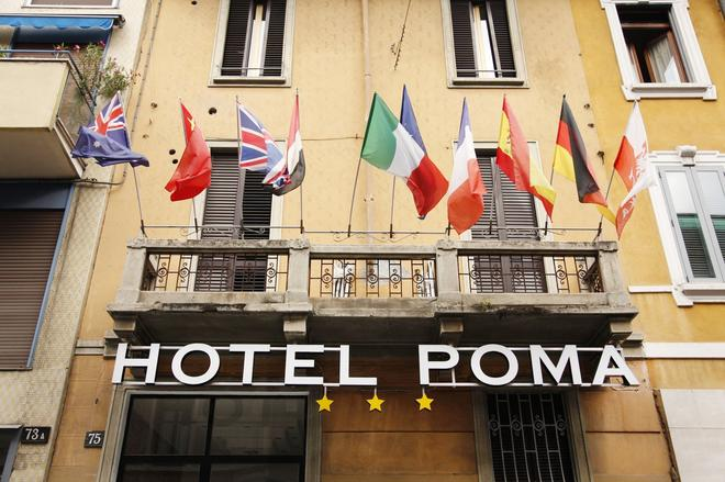 Hotel Poma - Milan - Building
