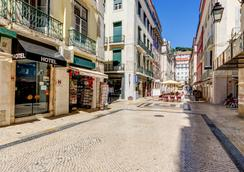 Hotel LX Rossio - Lisbon - Outdoor view