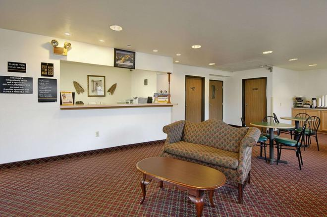 Super 8 by Wyndham York - York - Front desk