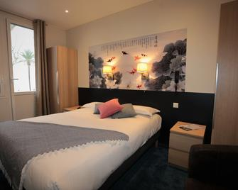 호텔 파비욘 임페리알 - 망통 - 침실