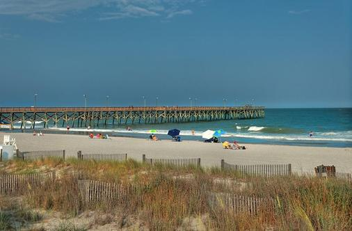 Surfside Beach Oceanfront Hotel - Surfside Beach - Beach