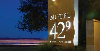 Motel 429 - Hobart - Outdoor view