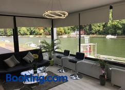 Entre Roche & Meuse - Hastière-par-dela - Living room