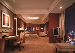 上海浦東香格里拉大酒店 - 上海 - 臥室
