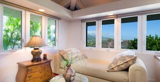 Ocean View Diamond Head Kahala Slope - Гонолулу - Гостиная