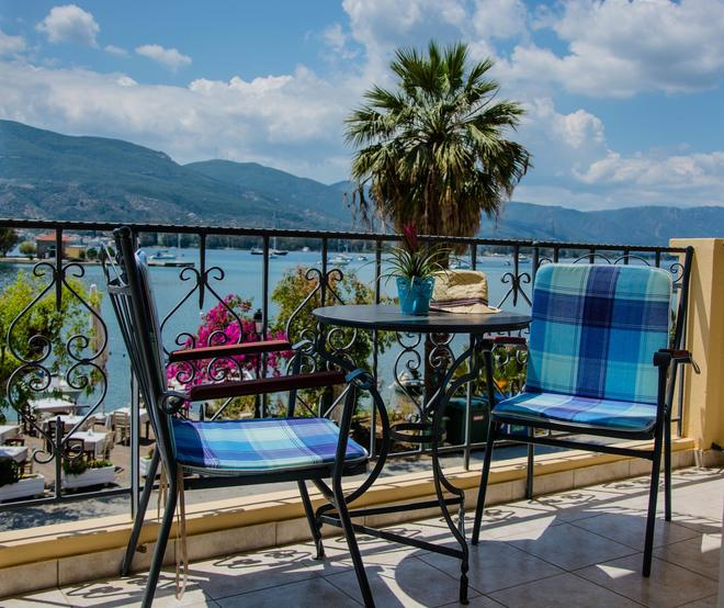 Theano Hotel - Póros - Balcony