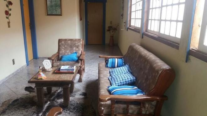 Pousada Caminho do Trem - Tiradentes - Living room