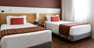 Quality Hotel Faria Lima - סאו פאולו - חדר שינה