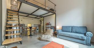 San Teodoro Modern Loft - Roma - Sala de estar