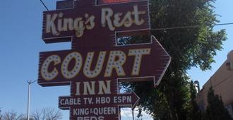 King's Rest Court Inn - סנטה פה - נוף חיצוני