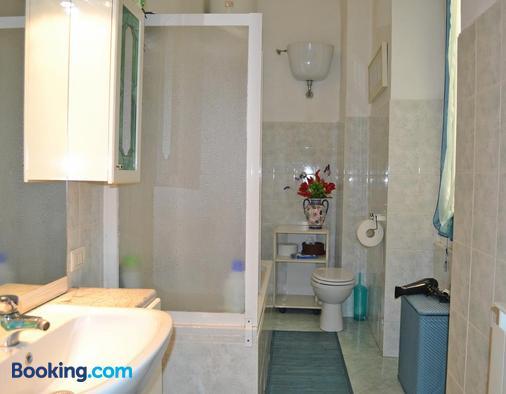 B&B Delfino Blue - Genoa - Phòng tắm