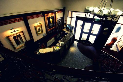 Alexander Thomson Hotel - Glasgow - Front desk