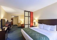 Comfort Suites East - Lincoln - Bedroom