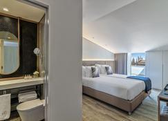 호텔 문 & 선 브라가 - 브라가 - 침실