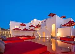 Art Hotel Santorini - Pyrgos Kallistis - Gebäude