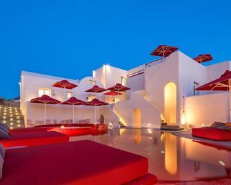 Art Hotel Santorini - Pyrgos Kallistis - Gebouw