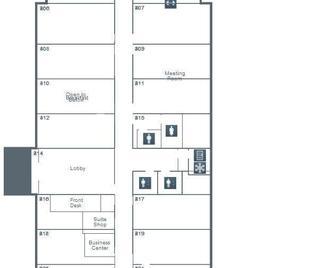 Hampton Inn & Suites La Porte - La Porte - Grundriss