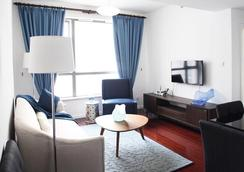 CityLife Serviced Apartments-Top of City - Shanghai - Living room