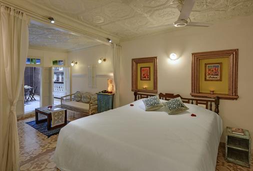 French Haveli - Ahmedabad - Phòng ngủ