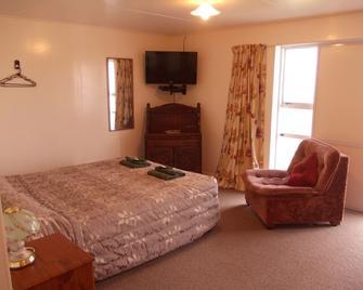 Bignell Street Motel - Whanganui - Yatak Odası