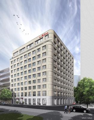 Adina Apartment Hotel Frankfurt Westend - Frankfurt am Main - Building