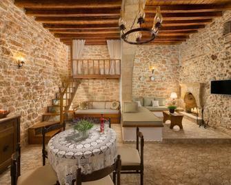 Rodia House - Lardos - Living room