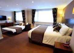 The Dolphin Sa1 Hotel - Swansea - Bedroom