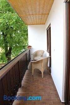 Hotel-Garni & Hostel Sandwirt - Бад-Ишль - Балкон