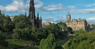 The Balmoral Hotel - Edinburgh - Outdoor view