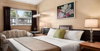 Thriftlodge Edmonton - אדמונטון - חדר שינה