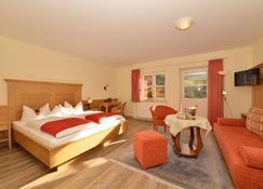 هوتل أدلر - Hirschegg (Vorarlberg) - غرفة نوم